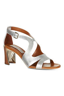 STELLA MCCARTNEY Pumblechook metallic sandals