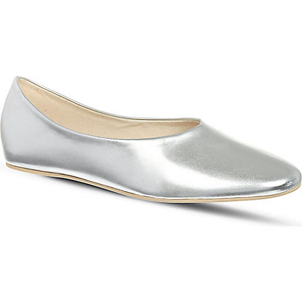 STELLA MCCARTNEY Gargery slippers (Silver