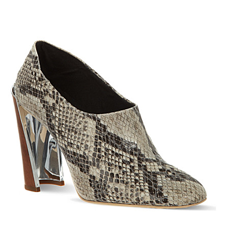 SUSUDIO Wemmick python-look shoes (Beige