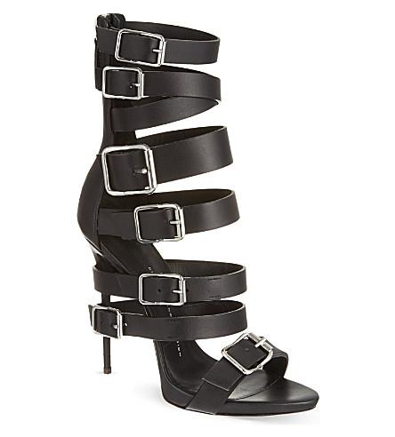 GIUSEPPE ZANOTTI Mermaid sandals (Black