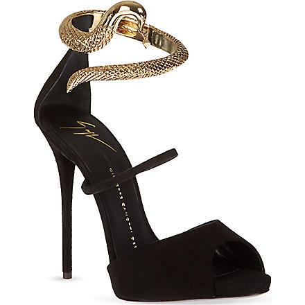 GIUSEPPE ZANOTTI Peeta sandals (Black