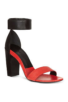 CHLOE Ball leather sandals