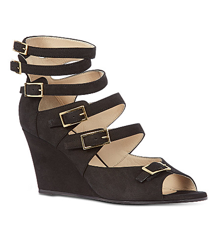 CHLOE Tree wedges (Black