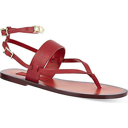 VALENTINO Studded sandals (Red