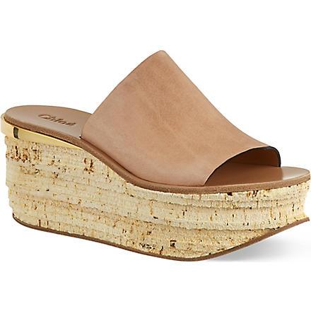CHLOE Sarason sandals (Beige