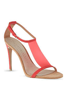 BURBERRY Taylor heeled sandals