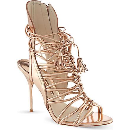 SOPHIA WEBSTER Lacey sandals (Gold