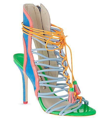 SOPHIA WEBSTER Lacey heeled sandals (Blue other