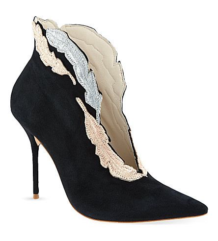 SOPHIA WEBSTER Tia ankle boots (Black