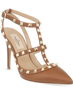 VALENTINO Rockstud 100 heeled sandals