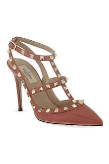 VALENTINO Rockstud 100 tbar court heels