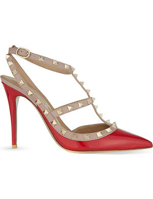 VALENTINO Rockstud 100 t-bar sandals