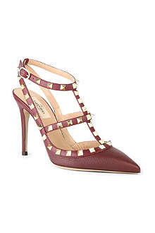 VALENTINO Rockstud 100 heeled point-toe pumps