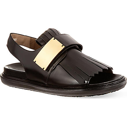 MARNI Oscar Delta sandals (Black