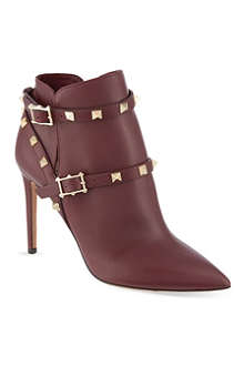 VALENTINO Rockstud 100 ankle boots
