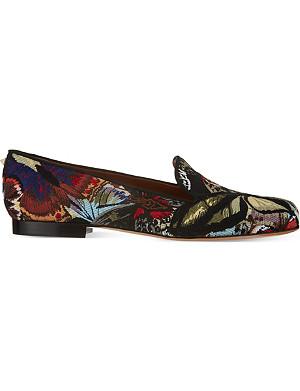 VALENTINO Camu butterfly slippers