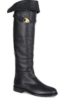 VALENTINO Animalia knee-high boots