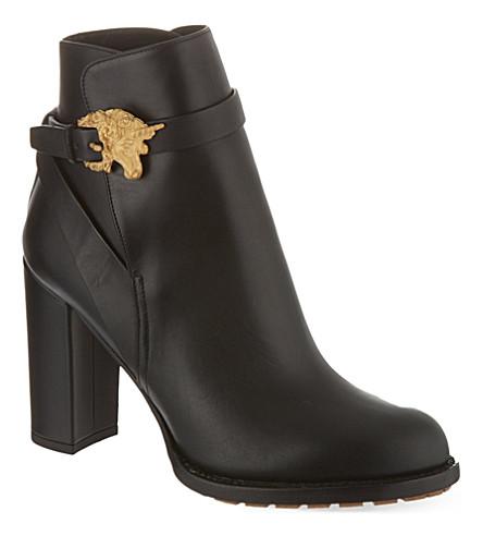 VALENTINO Animalia ankle boots (Black