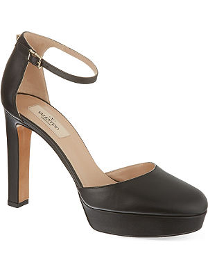 VALENTINO Leather courts