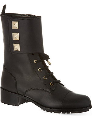 VALENTINO Combat boots with studs