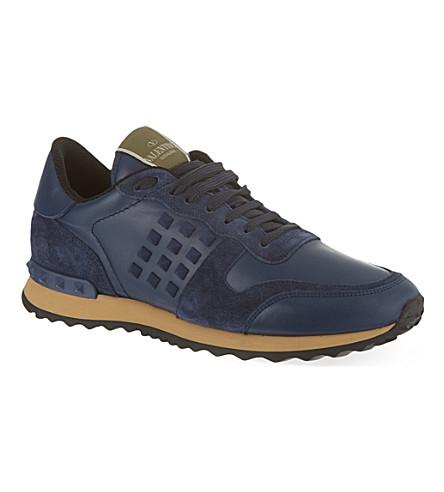 VALENTINO Rockstud trainers (Blue