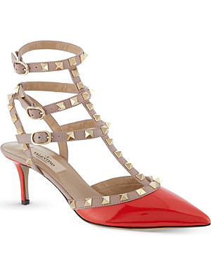 VALENTINO Rockstud court shoes