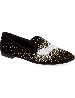 GIUSEPPE ZANOTTI Mawcak smoking slippers