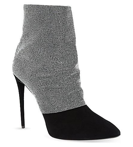 GIUSEPPE ZANOTTI Ducorp heeled boots (Black