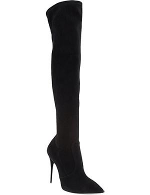 GIUSEPPE ZANOTTI Lutino knee-high boots