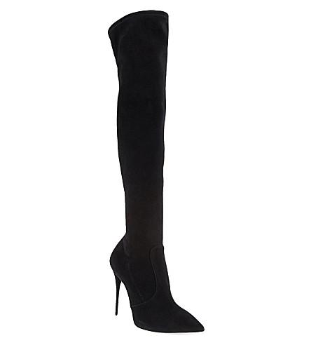 GIUSEPPE ZANOTTI Lutino knee-high boots (Black