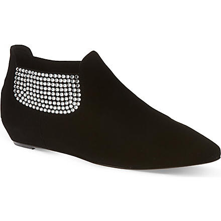 GIUSEPPE ZANOTTI Lorikeet ankle boots (Black