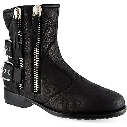 GIUSEPPE ZANOTTI Stafford ankle boots (Black