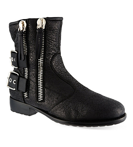 GIUSEPPE ZANOTTI Stafford ankle boots (Black