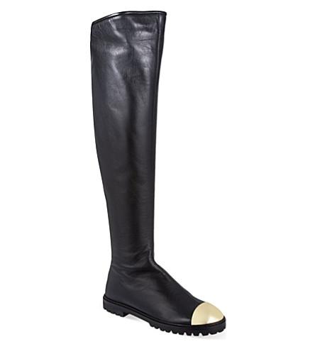 GIUSEPPE ZANOTTI Mallee knee-high boots (Black