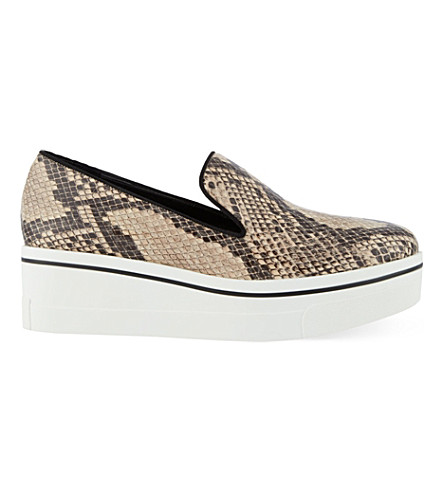 STELLA MCCARTNEY Ghost platform slip on trainers (Beige+oth