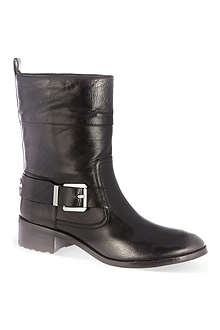SAINT LAURENT Debbie heeled cowboy boots