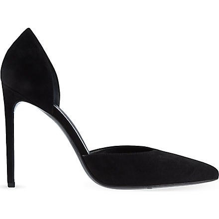 SAINT LAURENT Paris D'Orsay heels (Black