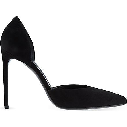 SAINT LAURENT Paris D'Orsay heels (Black