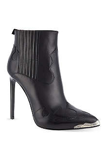 SAINT LAURENT Paris Cowboy heeled boots