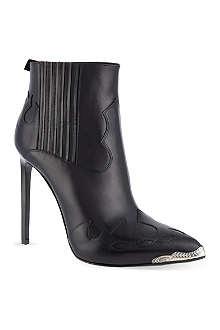 SAINT LAURENT Paris Cowboy heeled boots