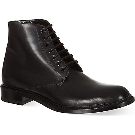 SAINT LAURENT Army ankle boots (Black