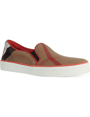 BURBERRY Gauden slip-on trainers