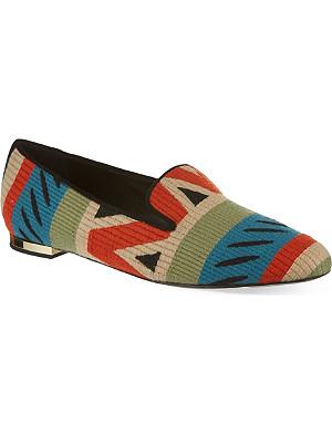 BURBERRY Hoadley woven slippers