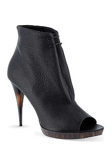 BURBERRY Jenkin leather ankle boots