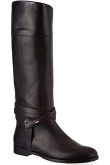 BURBERRY Rockyford leather boots