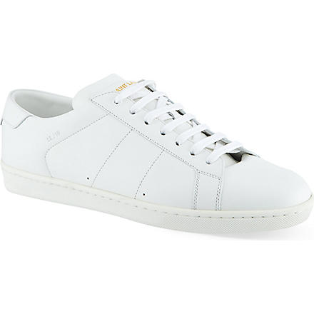 SAINT LAURENT Classic sneakers in white leather (White
