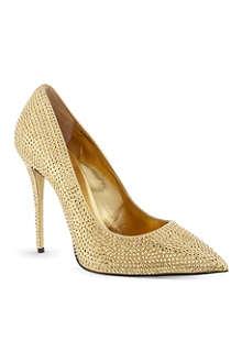 GIUSEPPE ZANOTTI Lovebird jewelled heels