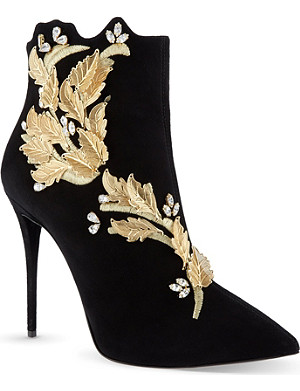 GIUSEPPE ZANOTTI Rosella suede ankle boots