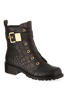 GIUSEPPE ZANOTTI Riverside leather boots