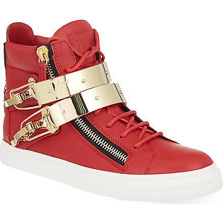GIUSEPPE ZANOTTI Ski sneaker (Red